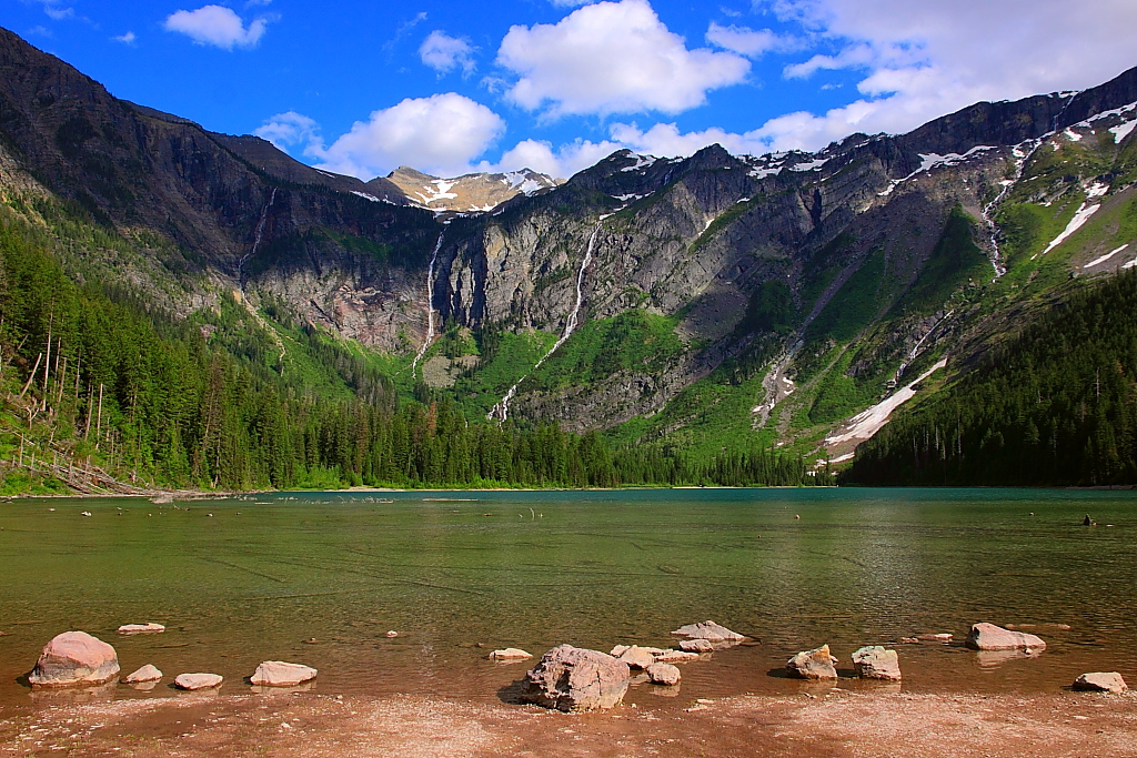 national parks, glacier national park, grinnell, highline, trail, hikes, adventure, forest, wildlife, wildflowers, nature avalanche lake