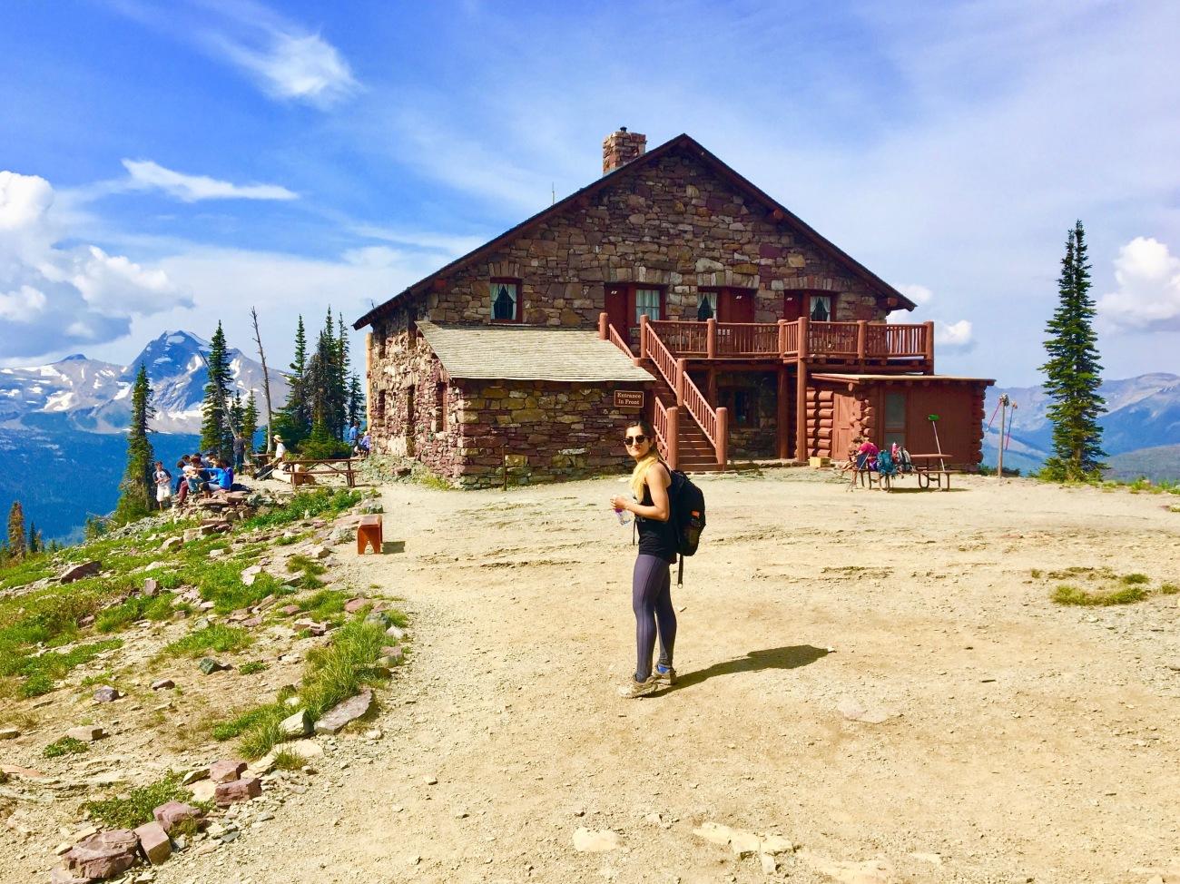 national parks, glacier national park, grinnell, highline, trail, hikes, adventure, forest, wildlife, wildflowers, nature granite park chalet