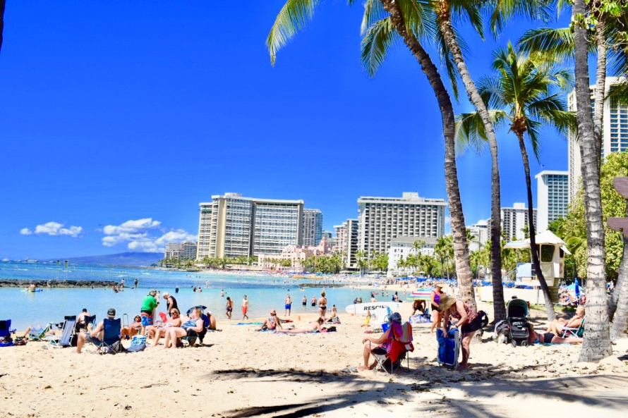 honolulu, waikiki, gorgeous beaches, palm trees, hawaii, sunglasses, hang loose