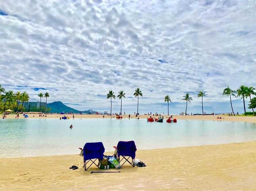 honolulu, waikiki, gorgeous beaches, palm trees, hawaii, sunglasses, hang loose, hilton hawaiian village, lagoon