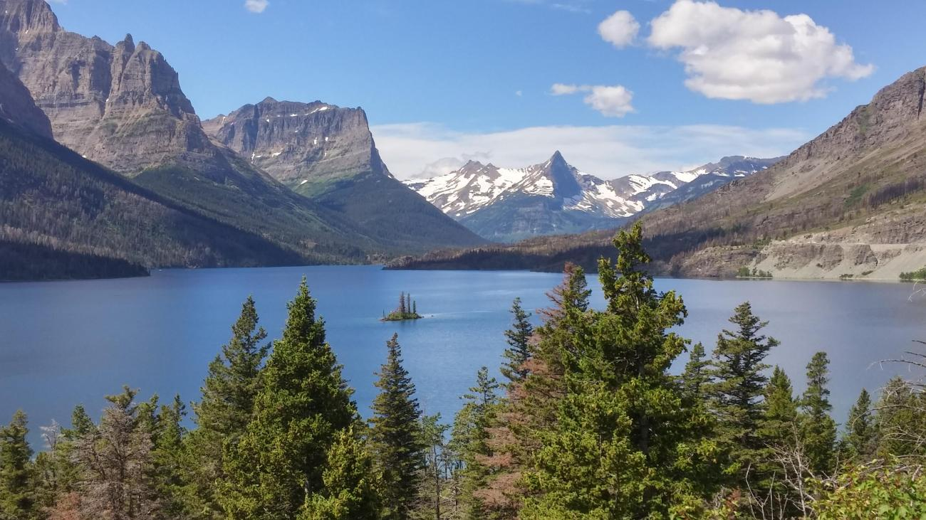 national parks, glacier national park, grinnell, highline, trail, hikes, adventure, forest, wildlife, wildflowers, nature wild goose island the shining montana