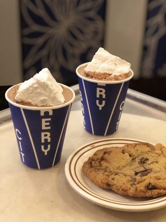 city bakery hot chocolate homemade marshmallow city bakery nyc  new york