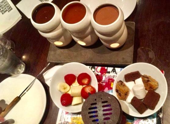 fondue max brenner chocolate dark chocolate caramel