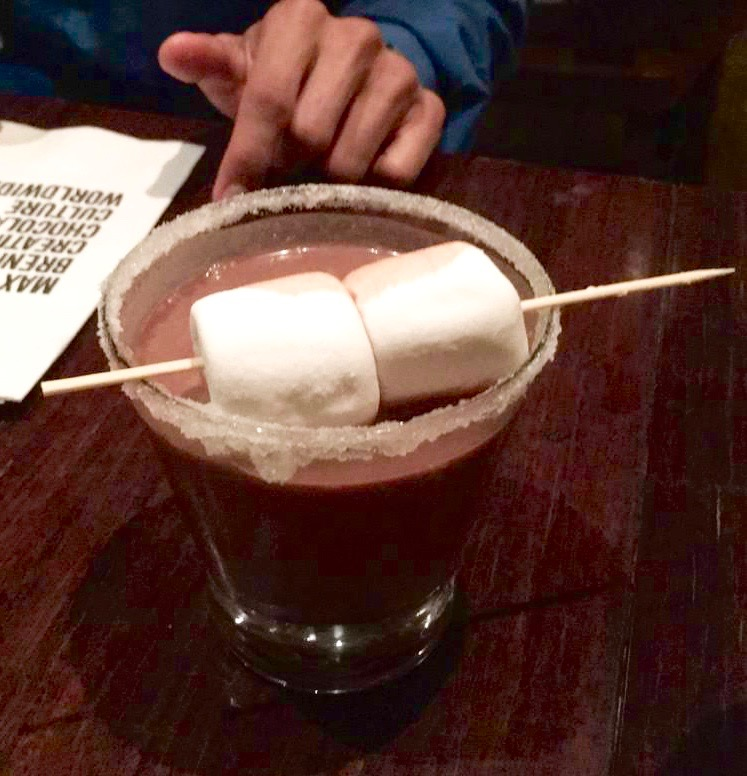 max brenner chocolate martini marshmallow