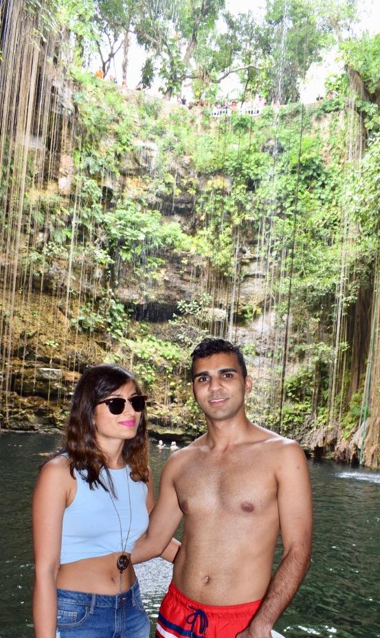 white sand beaches of cancun mexico, paradise island, resorts on hotel zone, ik kil cenote