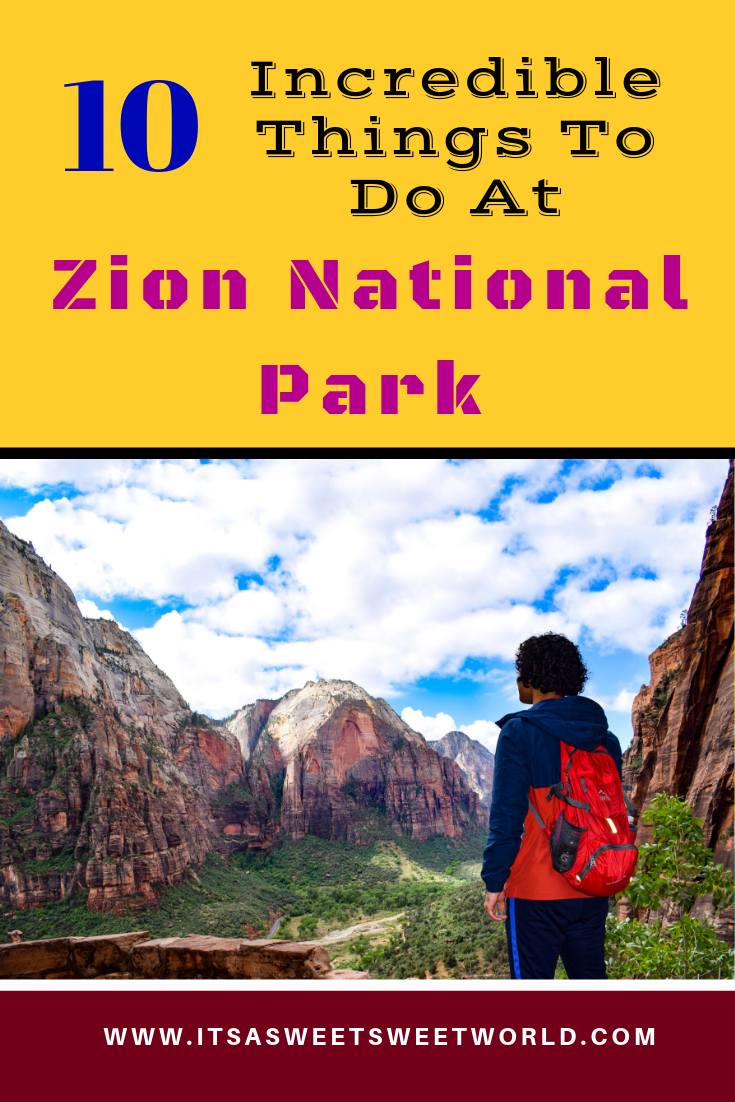 Zion national park, virgin river, landscape, sandstone cliffs, Utah National Parks, beautiful nature, Angel's Landing Summit, adventure hike, beautiful view, Pa'rus Trail, The Watchman, Junction Canyon, Sunset, Pin it