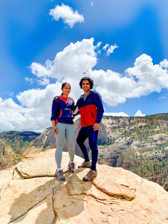 Zion national park, virgin river, landscape, sandstone cliffs, Utah National Parks, beautiful nature, Angel's Landing Summit, adventure hike, beautiful view
