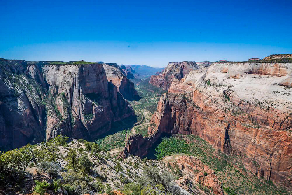 Zion national park, virgin river, landscape, sandstone cliffs, Utah National Parks, beautiful nature, Angel's Landing Summit, adventure hike, beautiful view, Scout's Lookout, Observation Point