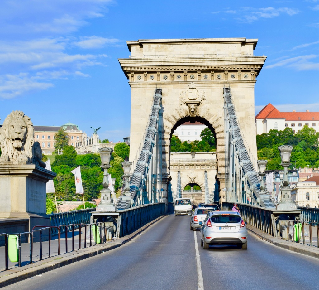budapest hungary europe buda castle chain bridge