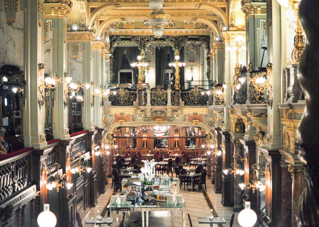 budapest hungary europe new york cafe